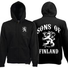 VETOKETJUHUPPARI SONS OF FINLAND musta