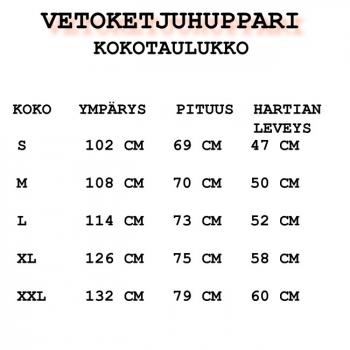 VETOKETJUHUPPARI - STAFF (87715)