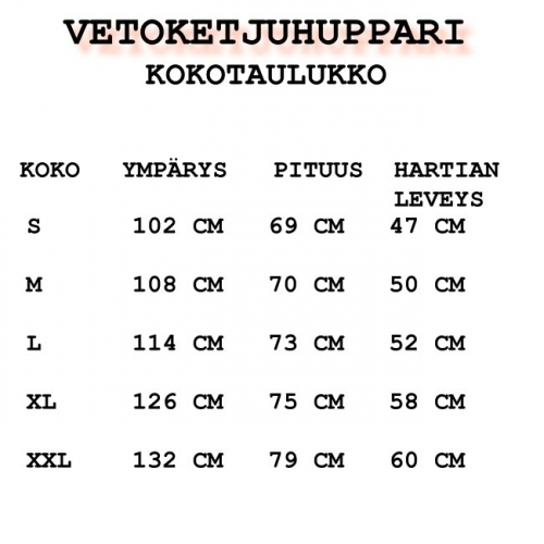 VETOKETJUHUPPARI - ROLLING THUNDER (RP012910)