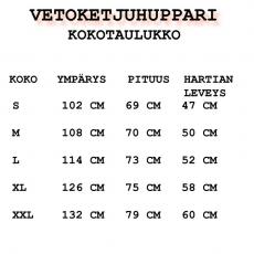 VETOKETJUHUPPARI -  BLUE DRAGON (V0732538AE)