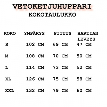 VETOKETJUHUPPARI SY117 (1073E)