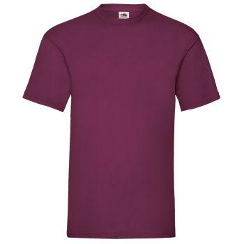 Vetoketjuhuppari + t-paita - Burgundy