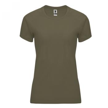 NAISTEN TEKNINEN T-PAITA ROLY    (Army green)