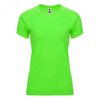 NAISTEN TEKNINEN T-PAITA ROLY    (Fluor green)