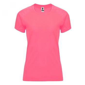 NAISTEN TEKNINEN T-PAITA ROLY    (Fluor pink Lady)