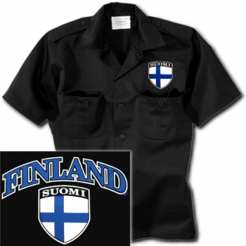 WORKER-KAULUSPAITA: Suomi Finland