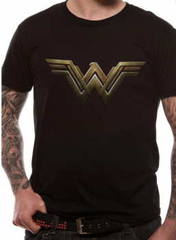 T-PAITA - WONDER WOMAN - MOVIE LOGO (LF1004Y)