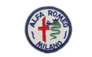KANGASMERKKI - ALFA-ROMEO (X50870)