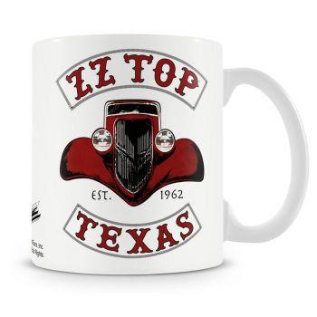 MUKI - ZZ-TOP - TEXAS 1962 COFFEE MUG